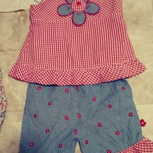 The cutest little summer outfit!
